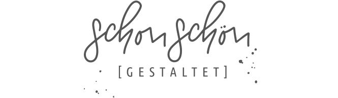 schonschön gestaltet Logo